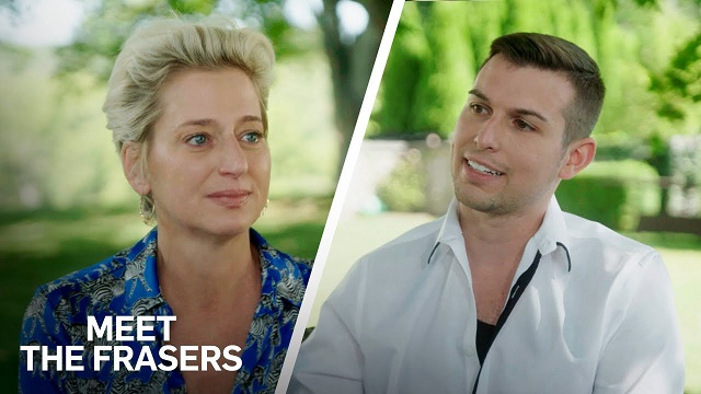 Split image with Matt Fraser and female guest