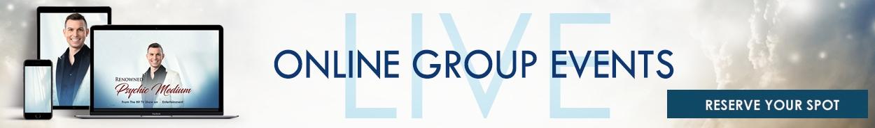 live online group event banner