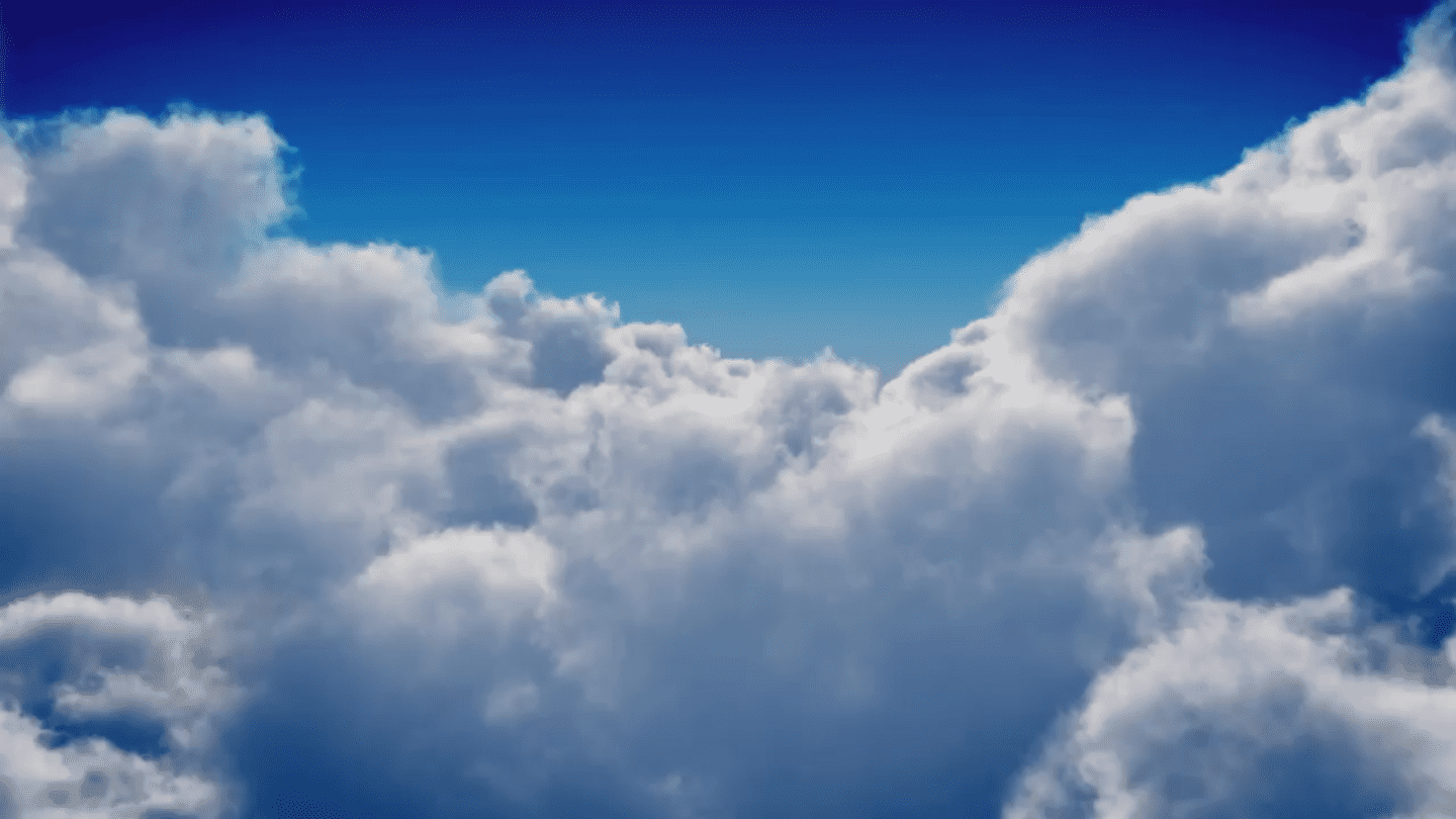 Image of clouds in the sky